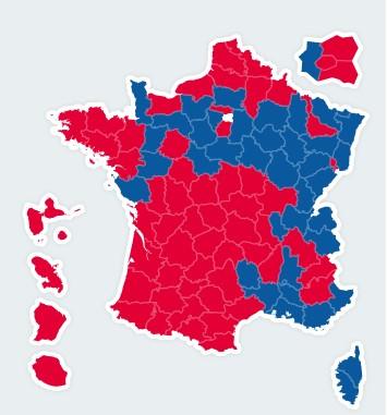 Résultats présidentielles 2nd tour 201210