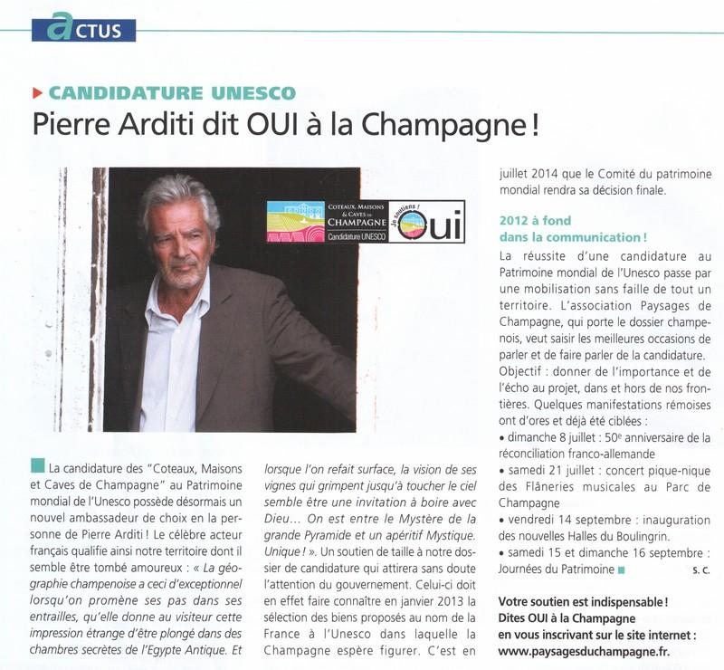 La Champagne au Patrimoine mondial de l'Unesco Unesco10
