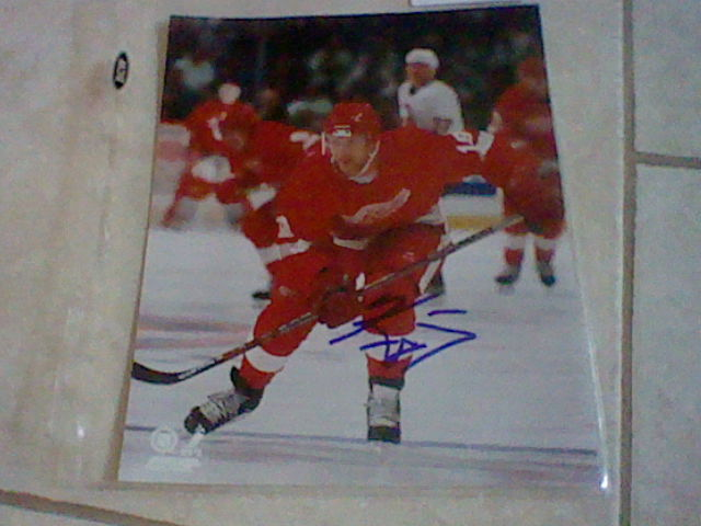 Autographed Red Wings Accessories Hni_0011