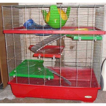 Grande cage rats 110