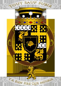 Armorial de l'Ordre de Sainct George Tery_a10