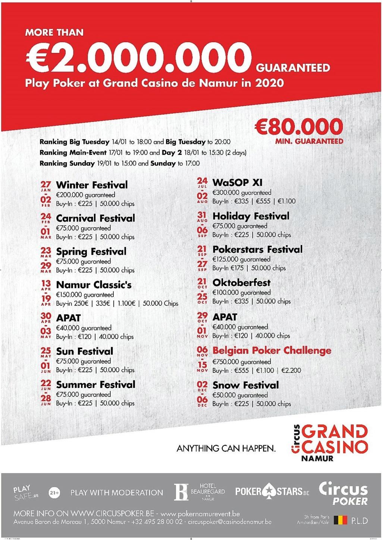 Programme casino namur 2020 Namur_10