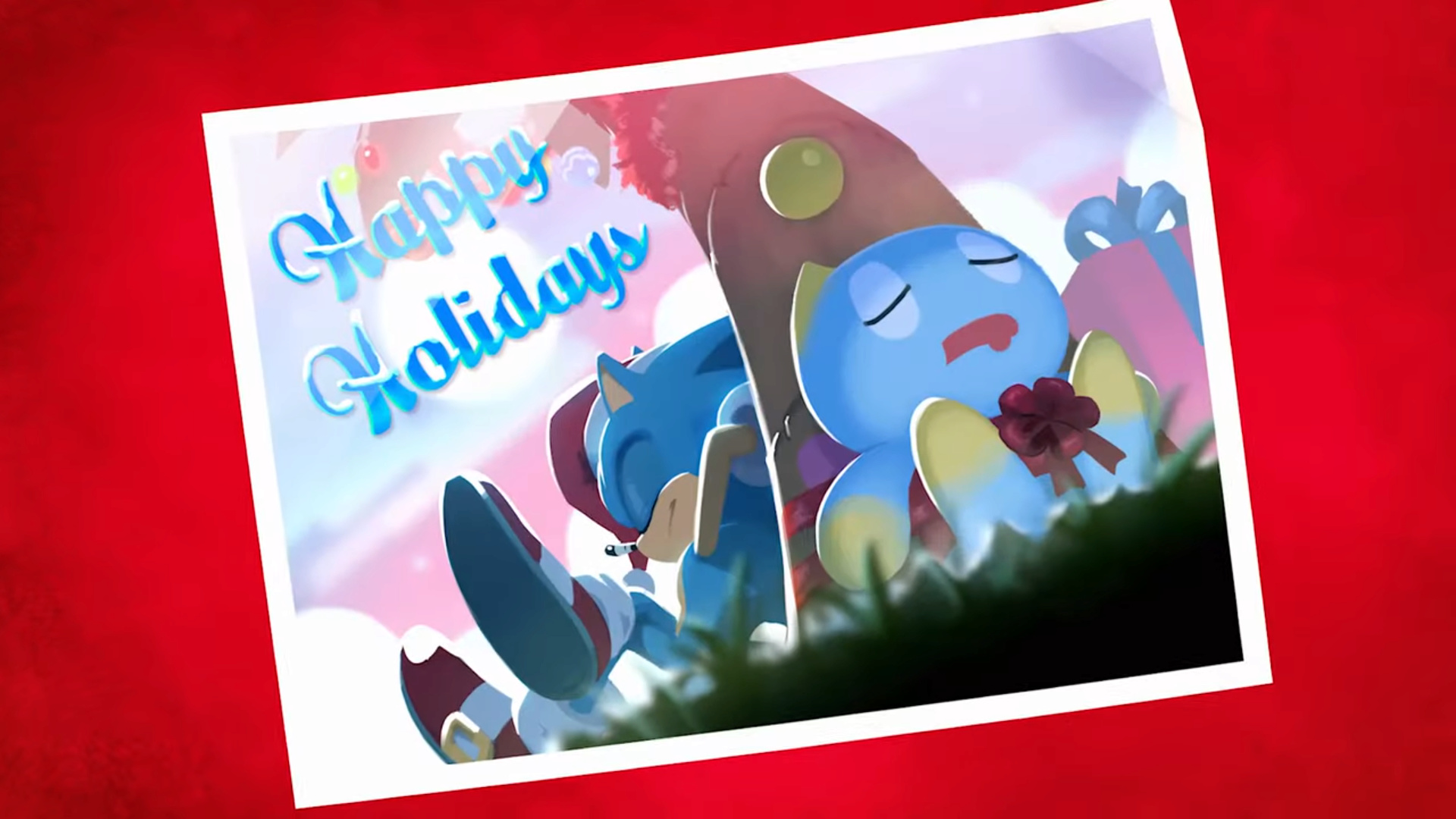 Chao in Space - Animation officielle spéciale Noël 2019 Happy_10