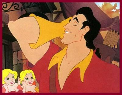 Baccalauréat des personnages Disney  Gaston10