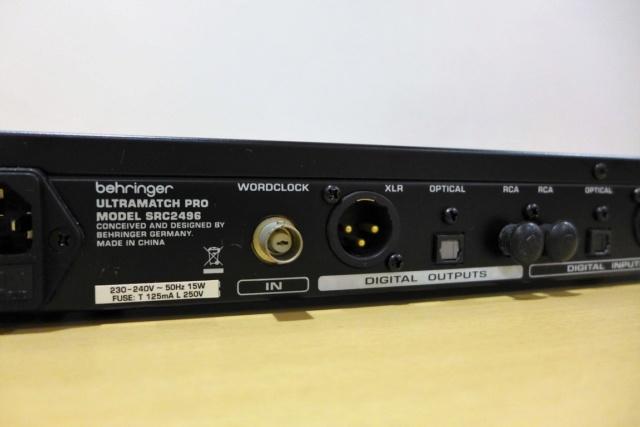 Behringer SRC 2496 (used) P1080921