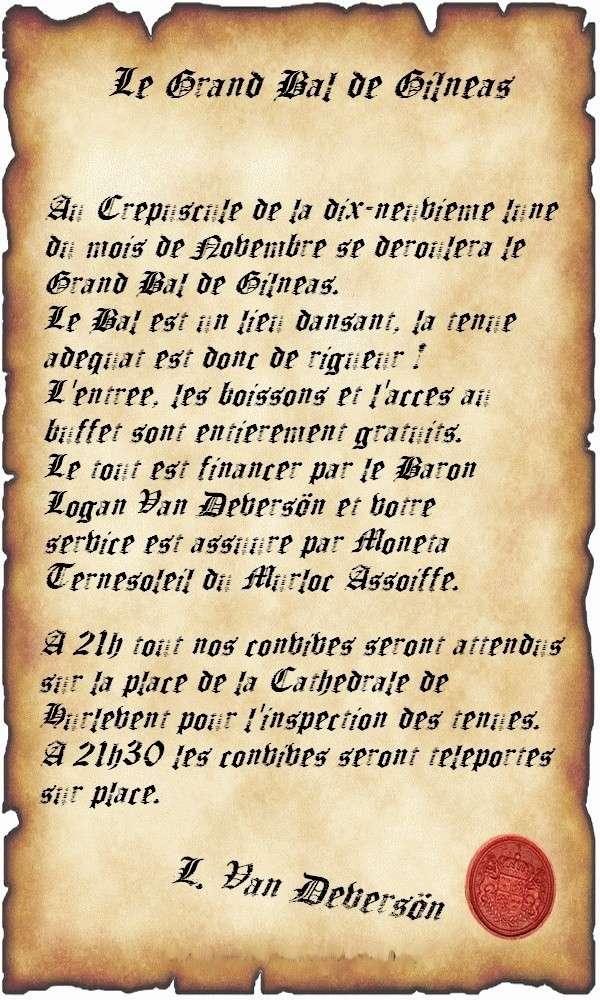 Le Grand Bal de Gilnéas Affich11