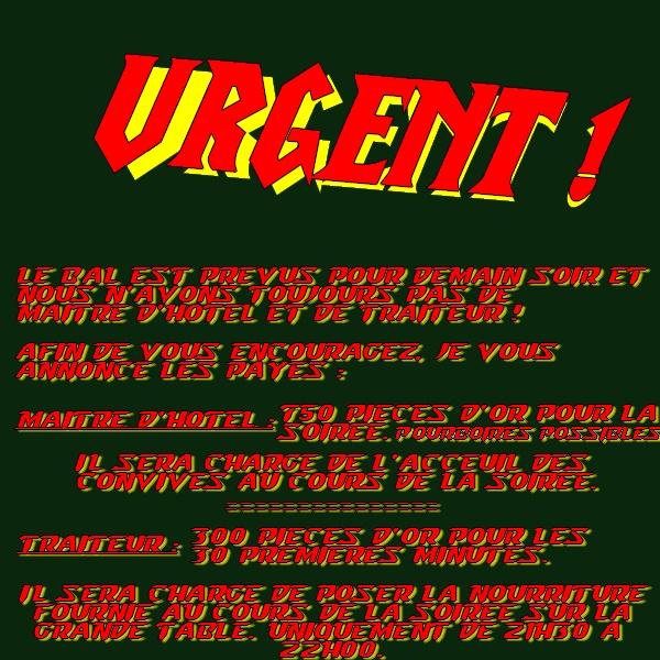 Le Grand Bal de Gilnéas Urgent10