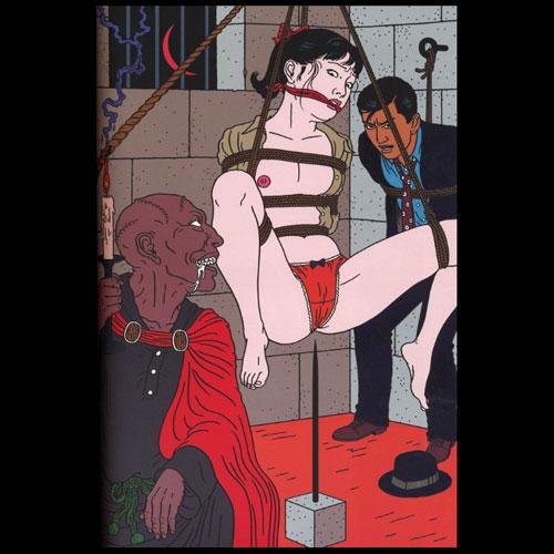 Toshio Saeki, estampes érotiques et cruelles 24883810