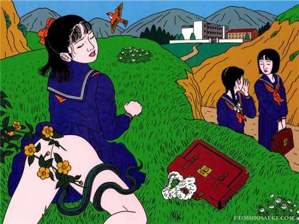 Toshio Saeki, estampes érotiques et cruelles 255a3c10