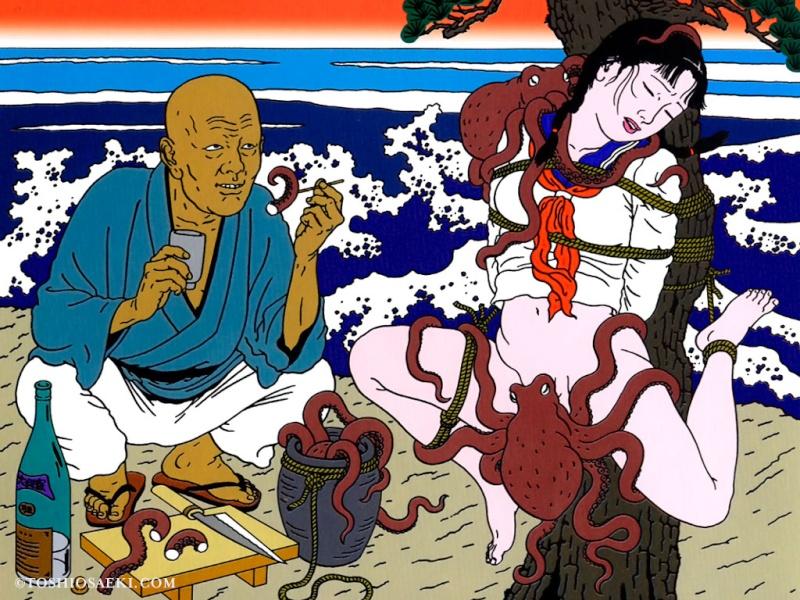 Toshio Saeki, estampes érotiques et cruelles Downlo10
