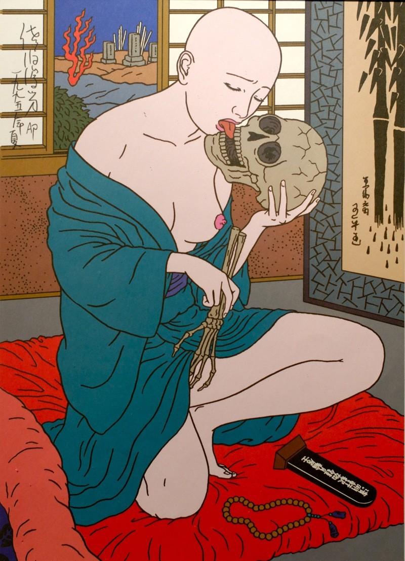 Toshio Saeki, estampes érotiques et cruelles Dsm_5310
