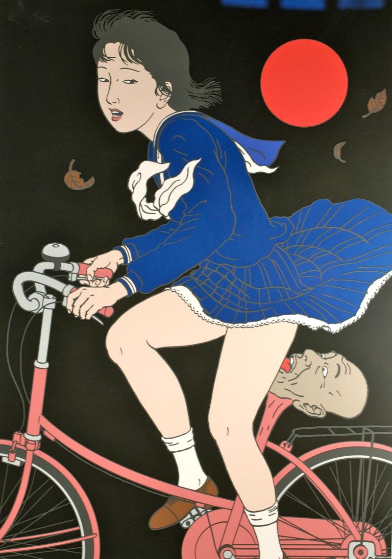 Toshio Saeki, estampes érotiques et cruelles Toshio10