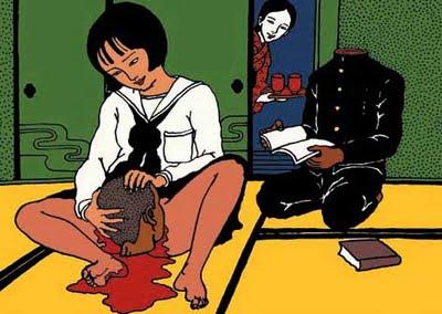 Toshio Saeki, estampes érotiques et cruelles Toshio11