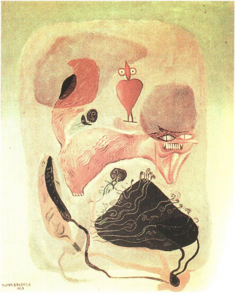 Victor Brauner : « peindre c'est la vie, la vraie vie, ma vie » Victor10