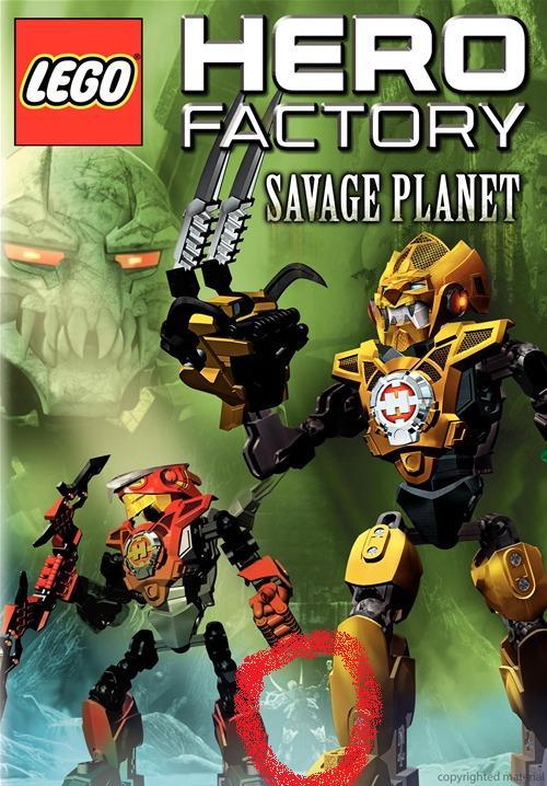 [Culture] DVD Hero Factory Savage Planet et date de sortie dévoilés Savage11