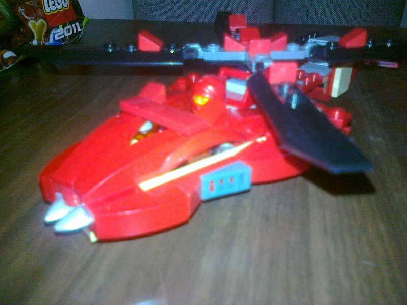 Moja verzija Ninjago seta Rattlecoptera 9443 06062010