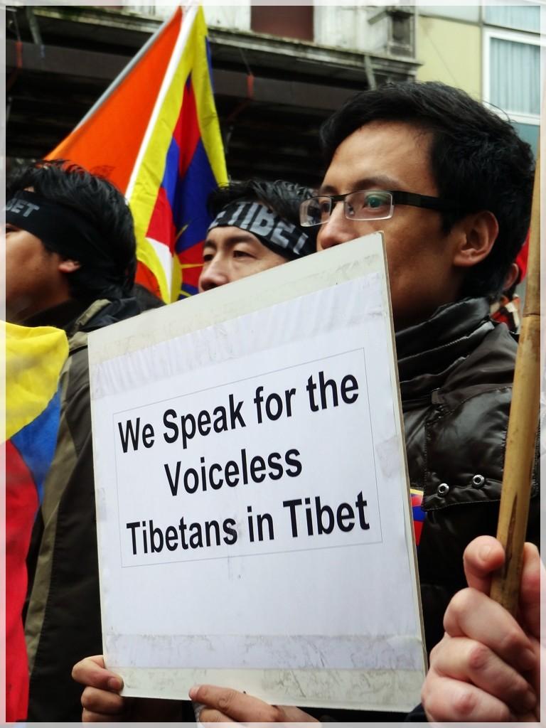 Manifestation pour le Tibet à Bruxelles - Page 2 Dsc03810