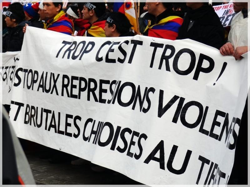 Manifestation pour le Tibet à Bruxelles - Page 2 Dsc04010