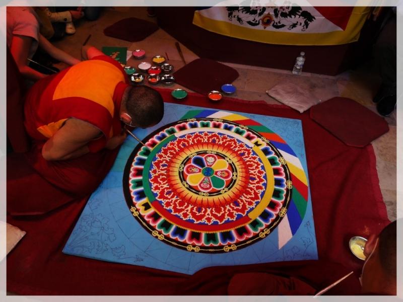 Céation et dissolution d'un Mandala Dsc05710