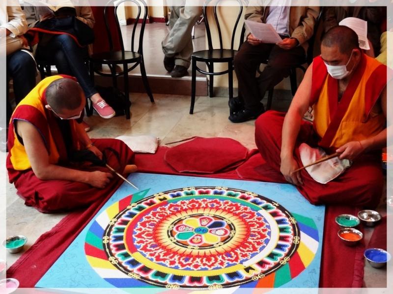 Céation et dissolution d'un Mandala Dsc05714