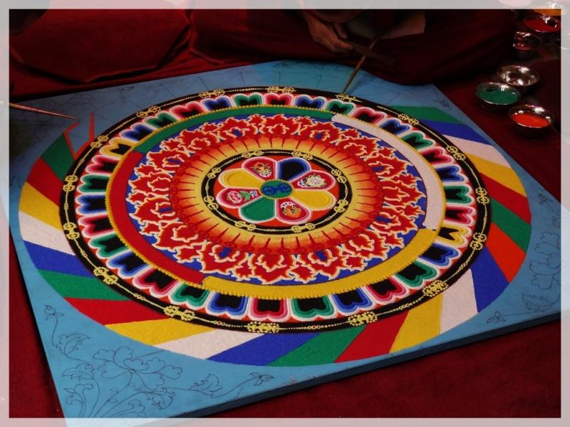 Céation et dissolution d'un Mandala Dsc05715
