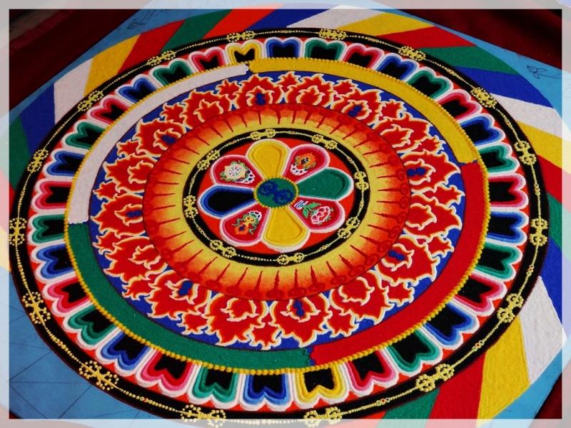 Céation et dissolution d'un Mandala Dsc05810