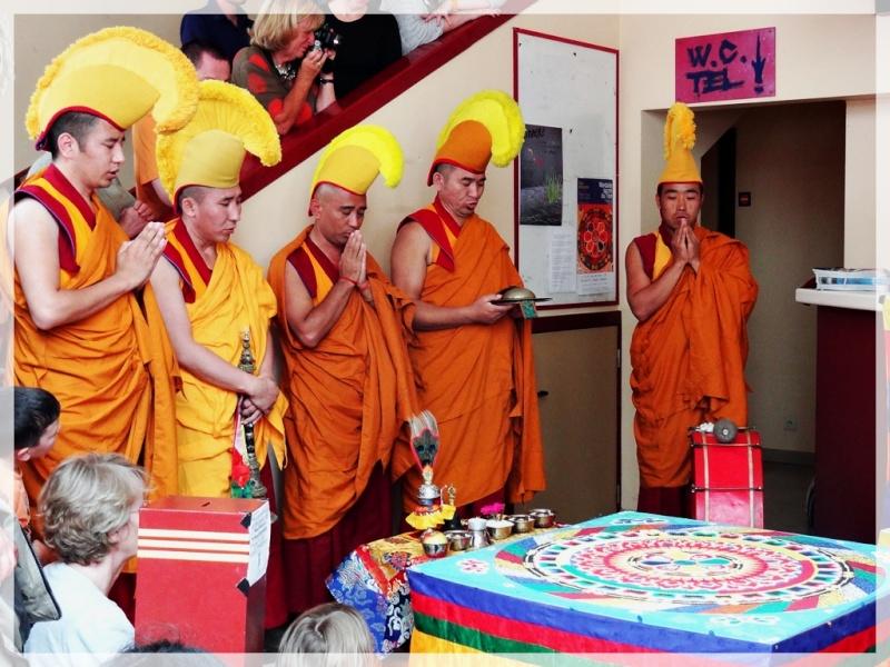 Céation et dissolution d'un Mandala Dsc05813