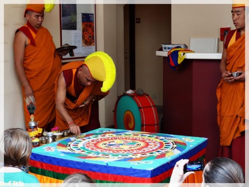 Céation et dissolution d'un Mandala Dsc05815