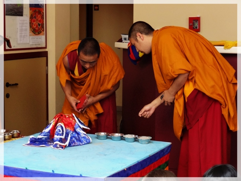 Céation et dissolution d'un Mandala Dsc05817