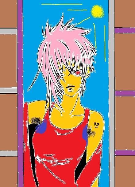 Concours de coloriage de Kae chan Vol.II Yoko_b10