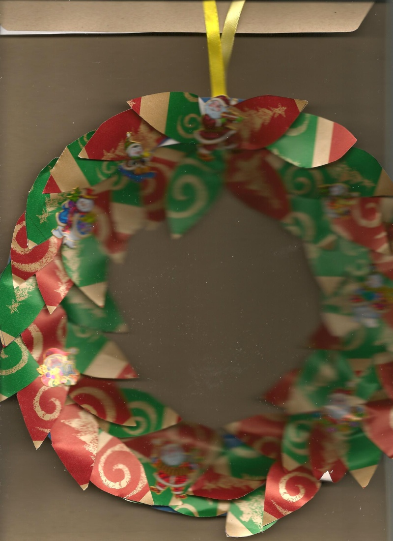 Paper wreaths - Page 2 Wreath10