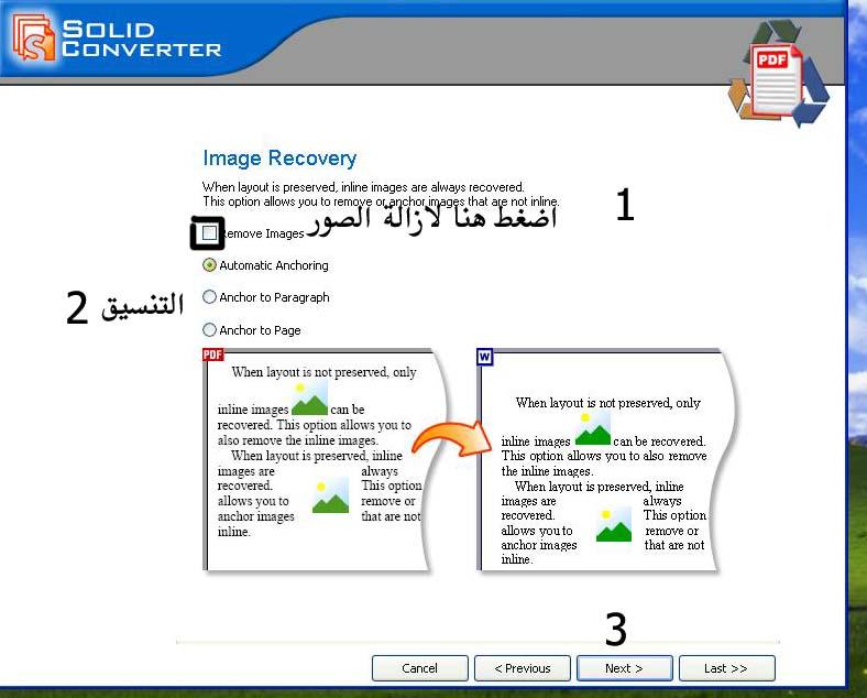برنامج SolidConvertPDF 7.08 لتحويل PDF إلى DOC  104mg10