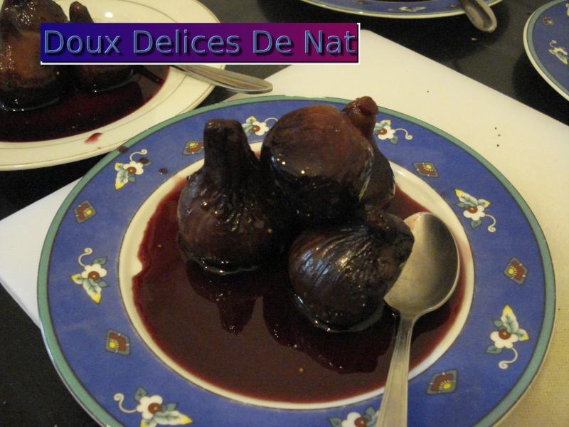 Figues pochées au vin rouge : Dsc00529