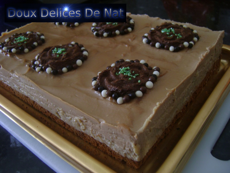 Gâteau l'écureuil : Dsc03113