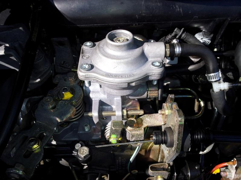 TUTO : Optimisation Pompe d'injection BOSCH et réglage pression de Turbo sur mot 20120362