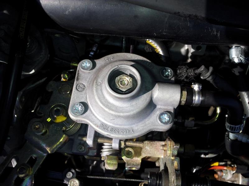TUTO : Optimisation Pompe d'injection BOSCH et réglage pression de Turbo sur mot 20120363