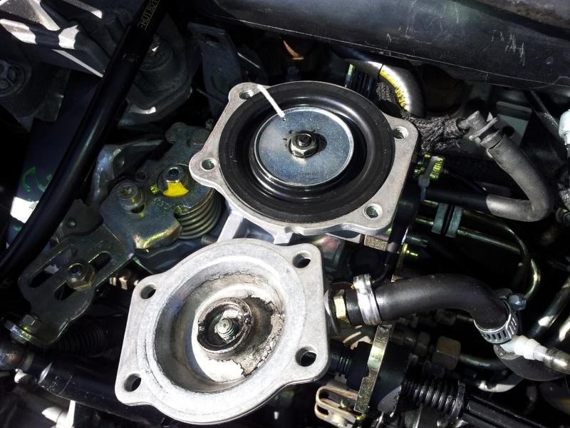 TUTO : Optimisation Pompe d'injection BOSCH et réglage pression de Turbo sur mot 20120365