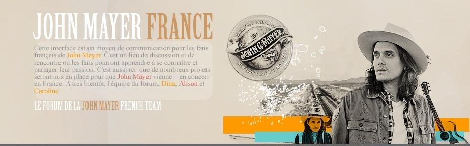 John Mayer France