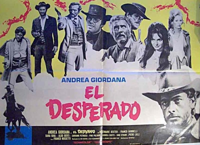 La boue, le massacre et la mort ( El Desperado ) –1967- Franco ROSSETTI 11995810
