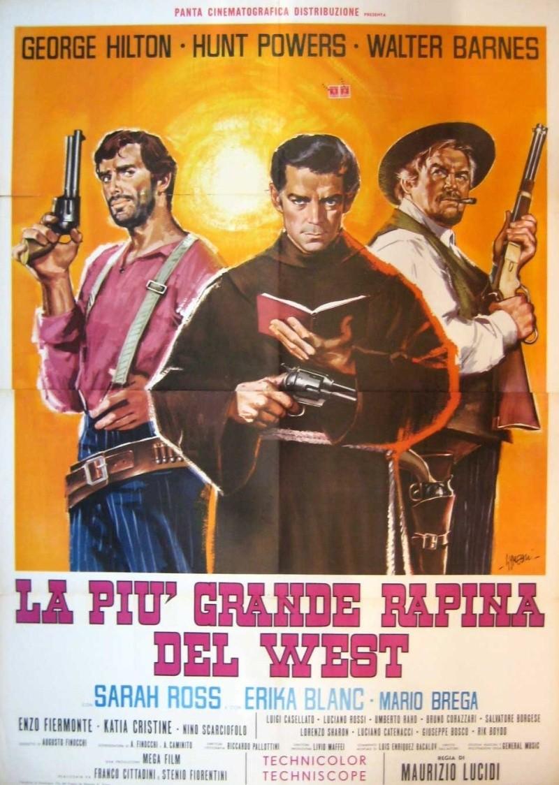 Trois salopards, une poignée d'or ( La piu grande rapina del west ) –1967- Maurizio LUCIDI 12115910