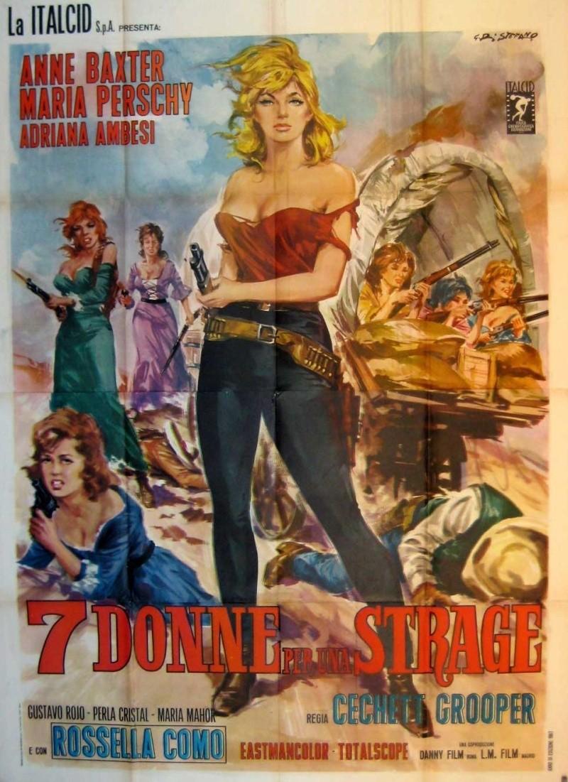 Le triomphe des 7 desperadas - Las siete magníficas - 1966 - Sidney W. Pink , Gian Franco Parolini ... 12131310