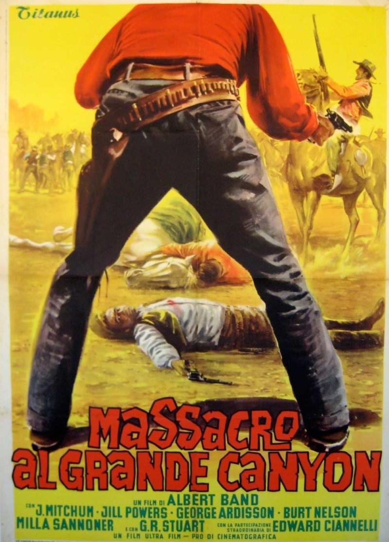 Massacre au Grand Canyon . 1963 . Albert Band et Sergio Corbucci . 12141010
