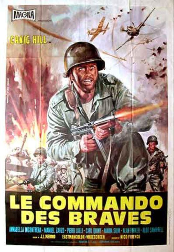 Le commando des braves-Commando di spie-Consigna:Matar al comandante jefe-José luis Merino, 1970 197610