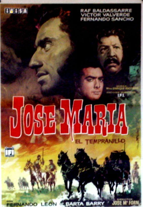 Les cavaliers sans peur. José María el Tempranillo . 1963. Jose Maria Forn 2790810