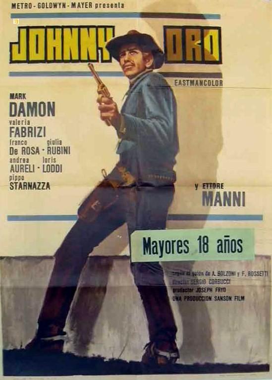 Ringo au Pistolet d'or - Johnny Oro - 1966 - Sergio Corbucci 3401610