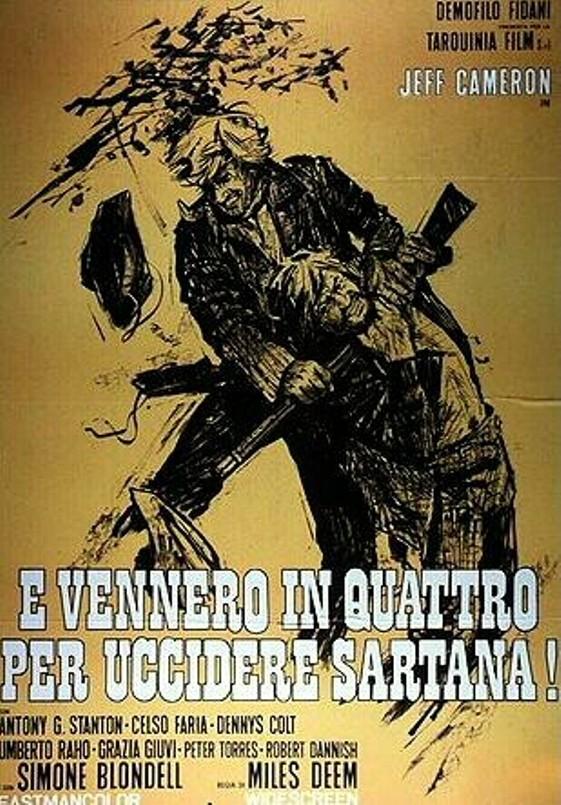 Quatre pour Sartana - E Vennero in Quatro per uccidere Sartana - Demofilio Fidani - 1969 42265410