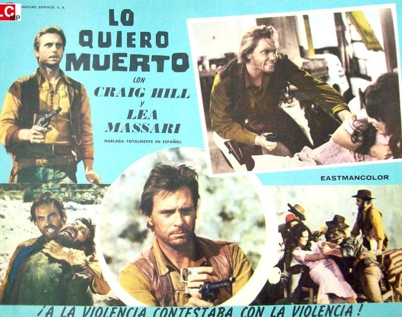 Clayton l'implacable - Lo voglio morto - Paolo Bianchini - 1968 5920510