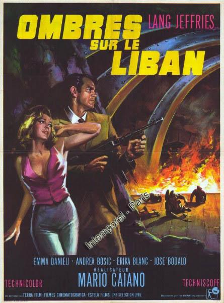 Ombres sur le Liban-Le Spie uccidono in silenzio-LOS ESPÍAS MATAN EN SILENCIO-Mario Caiano , 1966  6336510
