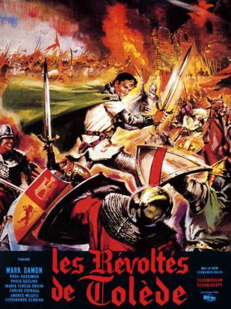 Les révoltés de Tolède . Sfida al re di Castiglia (Il re crudele) - PEDRO EL CRUEL - 1964. Ferdinando Baldi. 636610