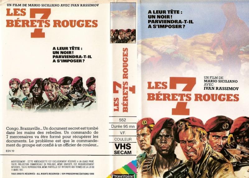Les 7 Bérets rouges. Sette baschi rossi. 1968. Mario Siciliano. 69598710